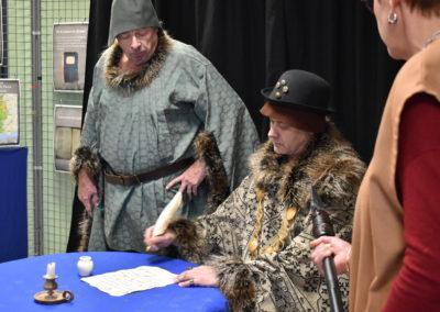 Vernissage expo Les seigneuries d'Aubigny